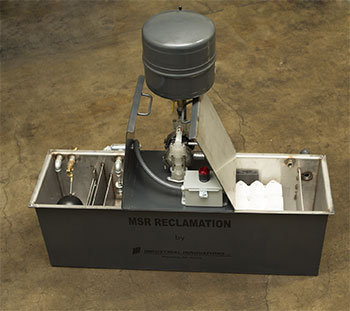 Industrial Innovations is featuring its Reclaim PRO lubrication purification and recycling system